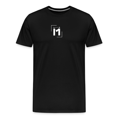 MADE white BrstPKT emblem - Men's Premium T-Shirt