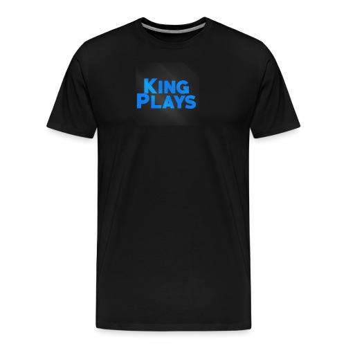 New King plays Logo Art - Men's Premium T-Shirt