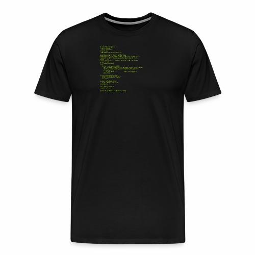 Python Code 1 - Men's Premium T-Shirt