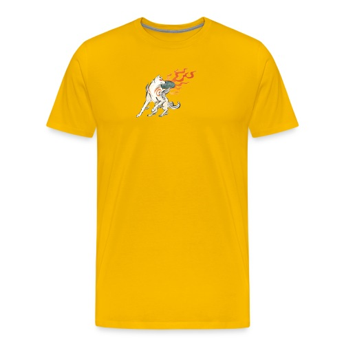 Fire wolf - Men's Premium T-Shirt