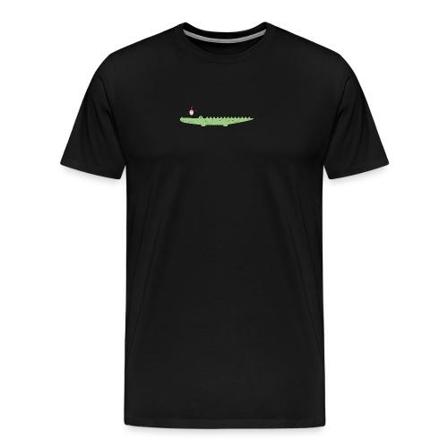 Croc & Egg Christmas - Men's Premium T-Shirt