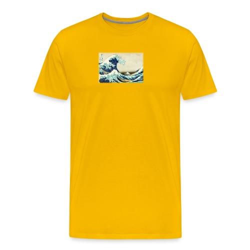 Great Wave off Kanagawa - Men's Premium T-Shirt