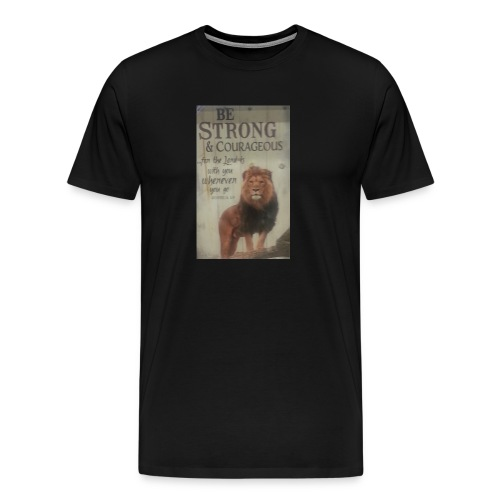 lion updates picture - Men's Premium T-Shirt