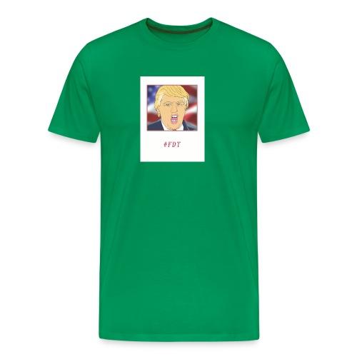 Fuck Donald Trump! - Men's Premium T-Shirt