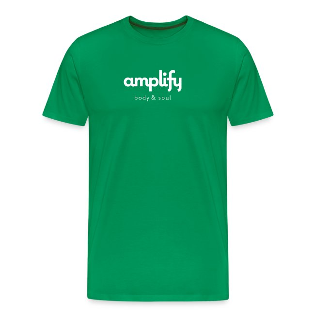 amplify logo // white