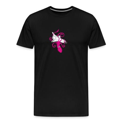 Squid vs Space Shuttle - Men's Premium T-Shirt