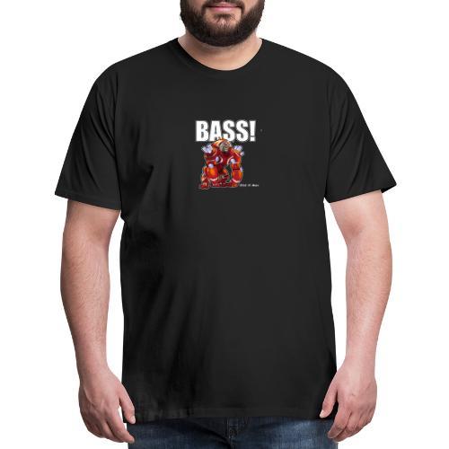 DJ Mondo's Rave: BASS! - Men's Premium T-Shirt