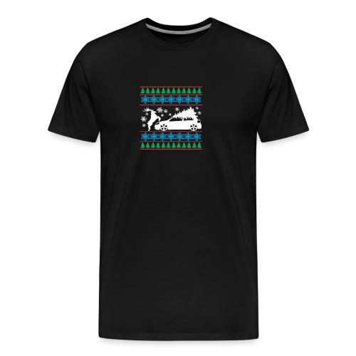 MK6 GTI Ugly Christmas Sweater - Men's Premium T-Shirt