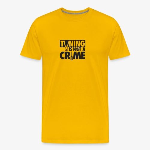 Tuning is not a crime - Men's Premium T-Shirt
