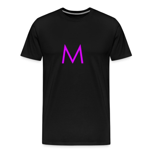 Single purple 'm' - Men's Premium T-Shirt