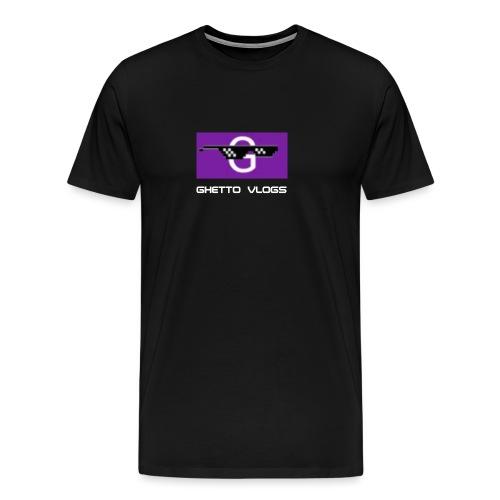 GhettoVlogs - Men's Premium T-Shirt