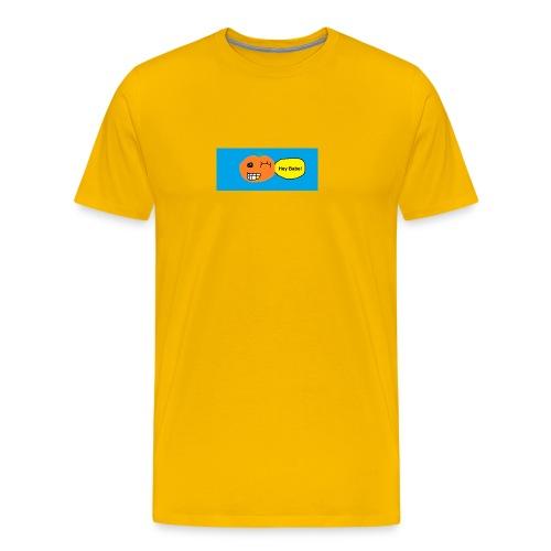 peachy smile - Men's Premium T-Shirt