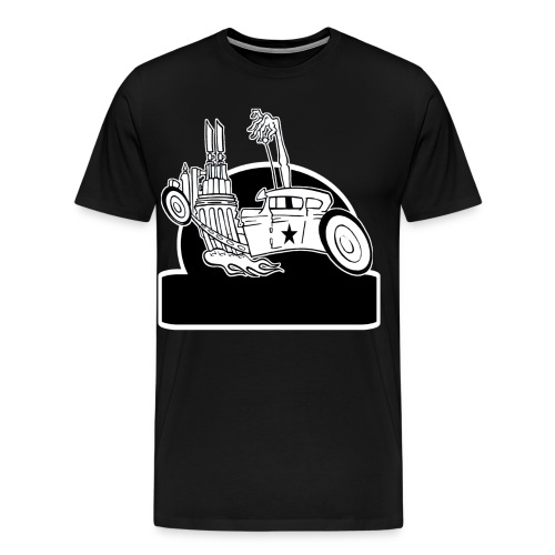 Personalized Rat Rod - Men's Premium T-Shirt