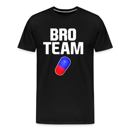 Bro Team White Words Logo Women's T-Shirts - Men's Premium T-Shirt
