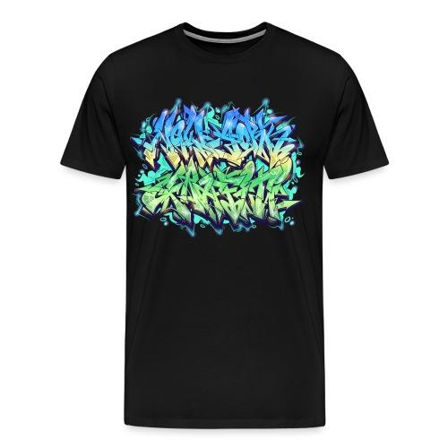 Themeaseven - NYG Design - Men's Premium T-Shirt