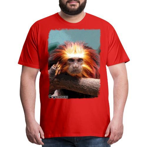 Monkey On Branch - Men's Premium T-Shirt