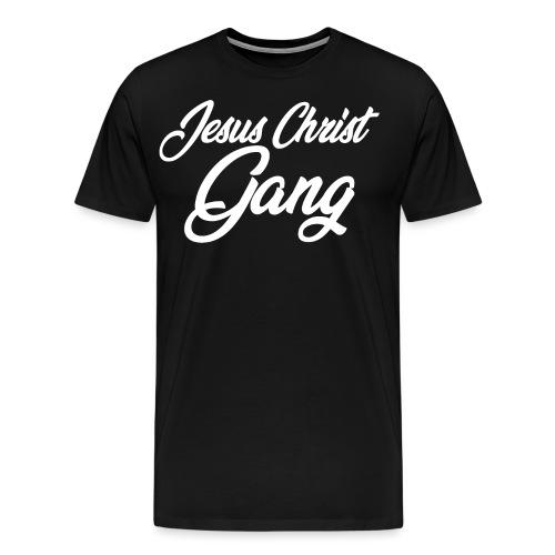 JESUS CHRIST GANG - Men's Premium T-Shirt