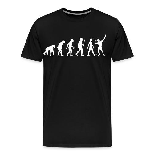 Evolution of Zyzz - Men's Premium T-Shirt
