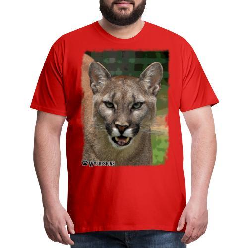 Cougar Stare - Men's Premium T-Shirt