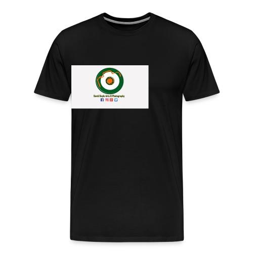 David Doyle Arts & Photography Logo - Men's Premium T-Shirt