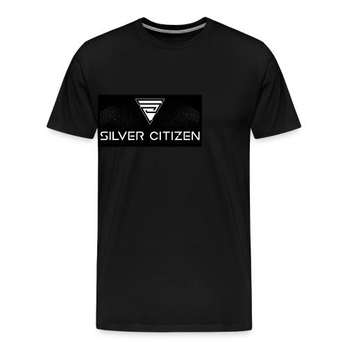 Silver Citizen Logo - Men's Premium T-Shirt