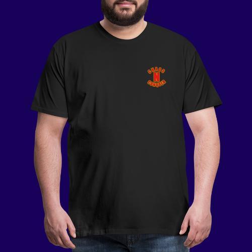ChaosNConquer Minimalist Logo Print - Men's Premium T-Shirt