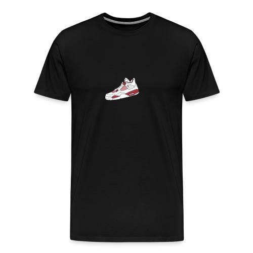 jordan 4 alt png - Men's Premium T-Shirt