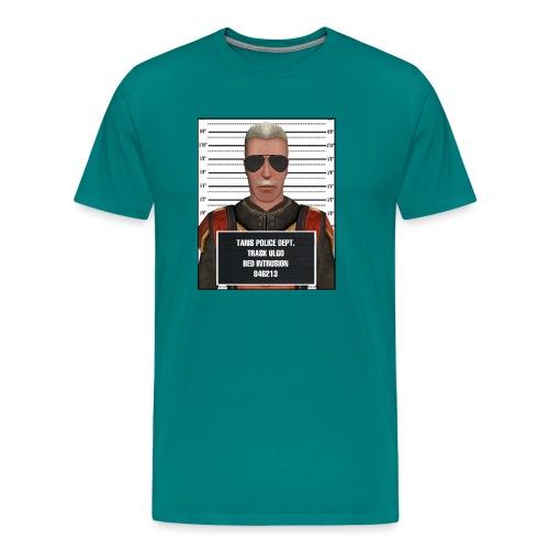 Trask TBI Mugshot - Men's Premium T-Shirt