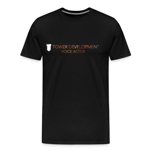 TOWER Voice Actor - Men's Premium T-Shirt