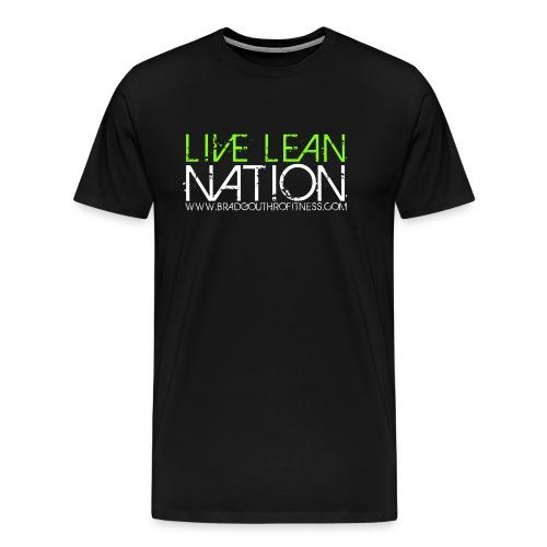 Live Lean Nation Long Sleeve - Men's Premium T-Shirt