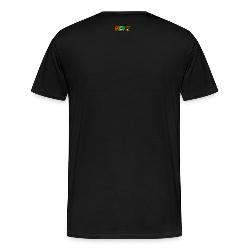 P2PU LOGO Medium RGB-01 - Men's Premium T-Shirt