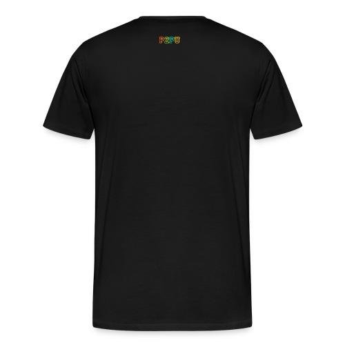 P2PU RGB-01 Solid - Men's Premium T-Shirt