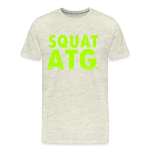 squat atg - Men's Premium T-Shirt