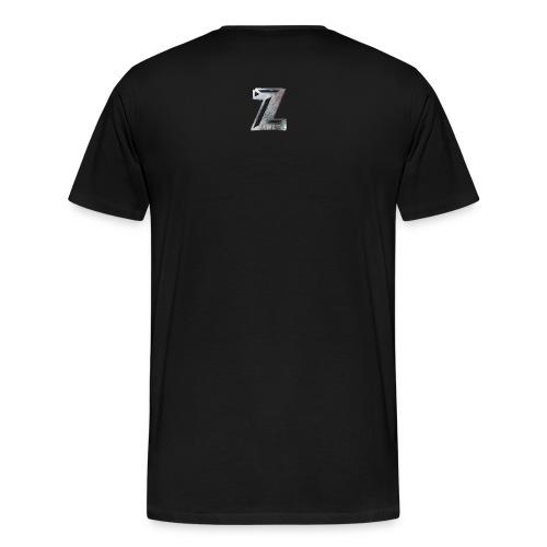 Zawles - metal logo - Men's Premium T-Shirt