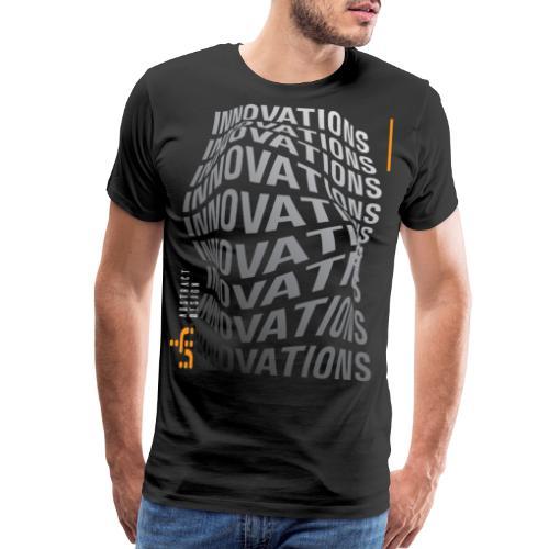 vhABstractCombo - Men's Premium T-Shirt