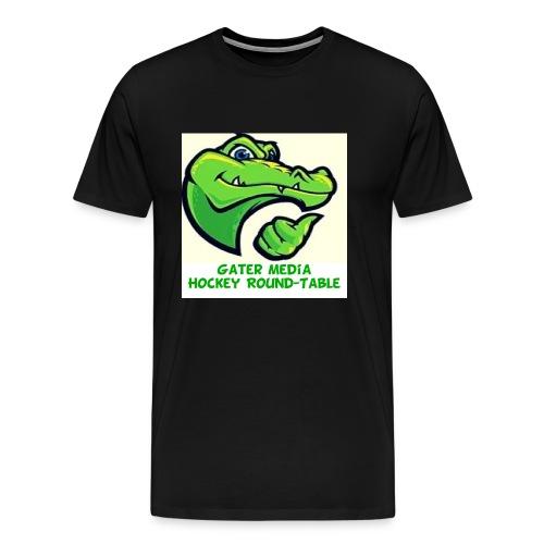 gater media logo jpg - Men's Premium T-Shirt