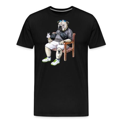 dog shirt final final copy png - Men's Premium T-Shirt