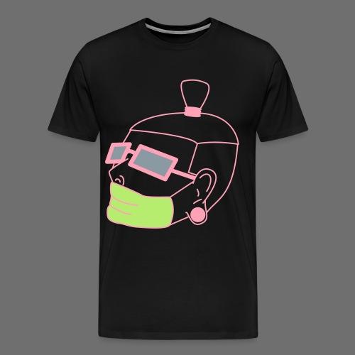 stupid kid character tee - Men's Premium T-Shirt