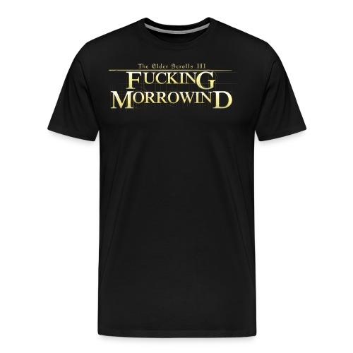 FUCKING MORROWIND png - Men's Premium T-Shirt