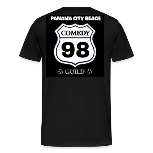 Black98comedy - Men's Premium T-Shirt