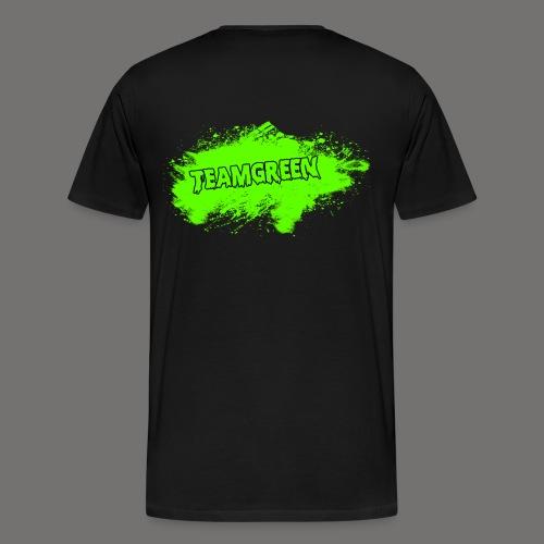 Team Green Blood 2 png - Men's Premium T-Shirt