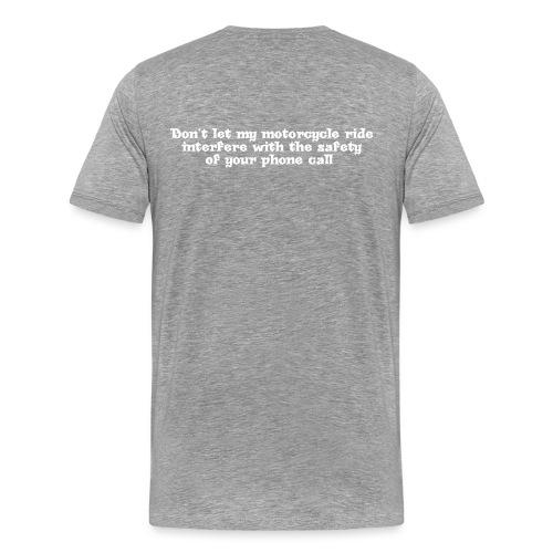 phonecallwhite - Men's Premium T-Shirt