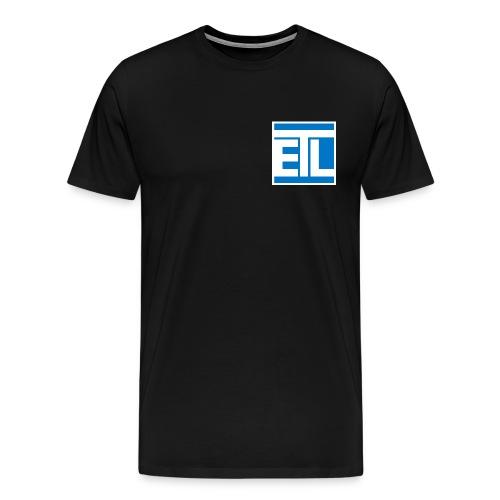 Initial logo - Men's Premium T-Shirt