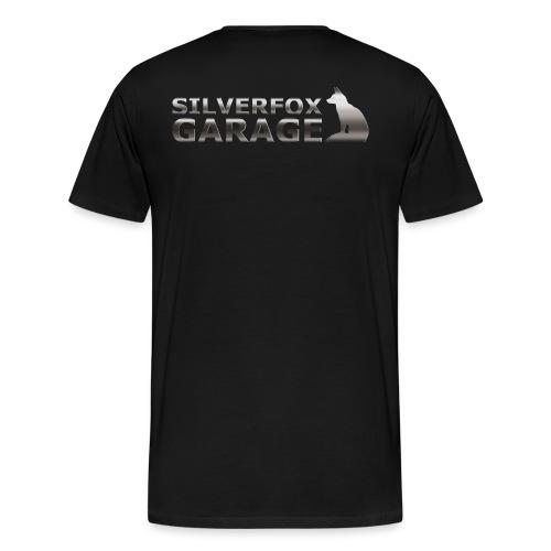 silver fox garage - Men's Premium T-Shirt