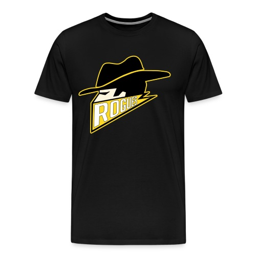 roguesshirtsmaller - Men's Premium T-Shirt