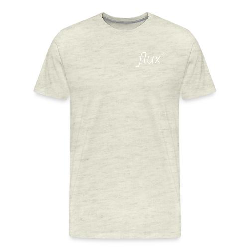 flux logo shirt png - Men's Premium T-Shirt