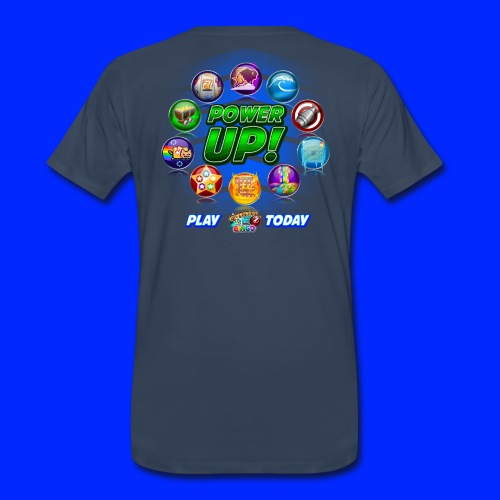 Vintage Cannonball Bingo Power-Up Tee - Men's Premium T-Shirt