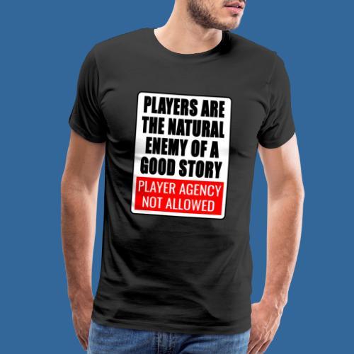Player agency not allowed - Men's Premium T-Shirt