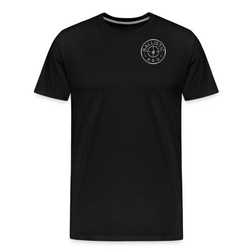 BBQ-silver-LRG - Men's Premium T-Shirt