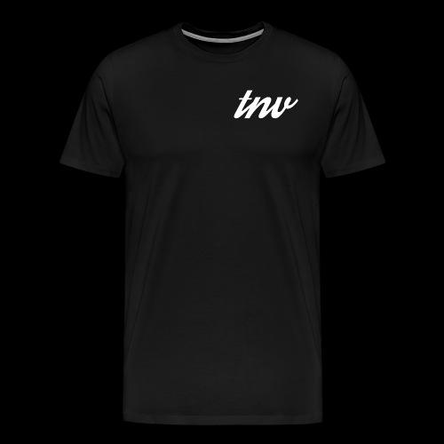 TNV WHITE png - Men's Premium T-Shirt